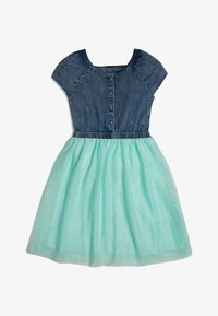 Guess - GUESS KLEID GLITTER - Day dress - blau - 0