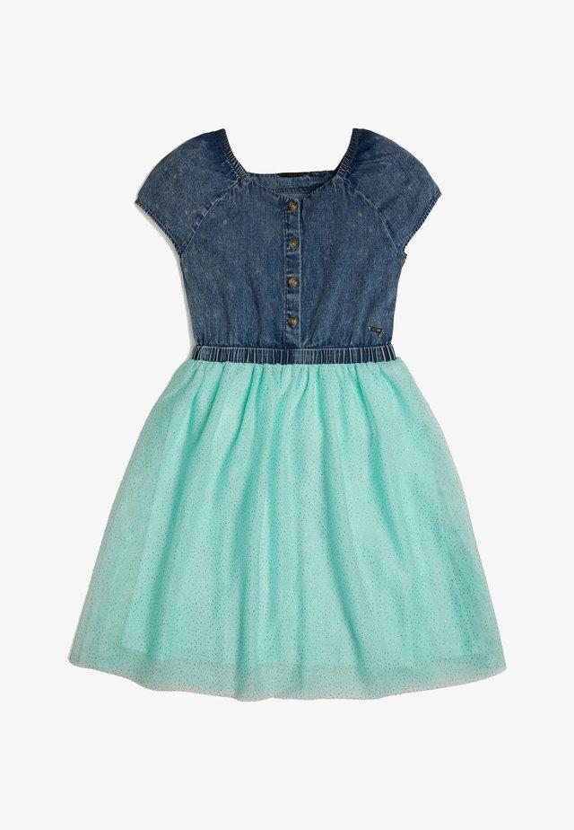 GUESS KLEID GLITTER - Vestito estivo - blau