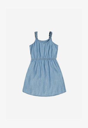 KLEID INDIGO - Denim dress - mehrfarbig, grundton blau