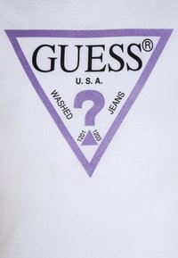 Guess - JUNIOR CORE - Camiseta estampada - blanc/true white - 2