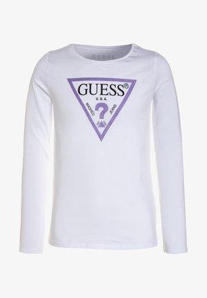 Pitkähihainen paita - true white