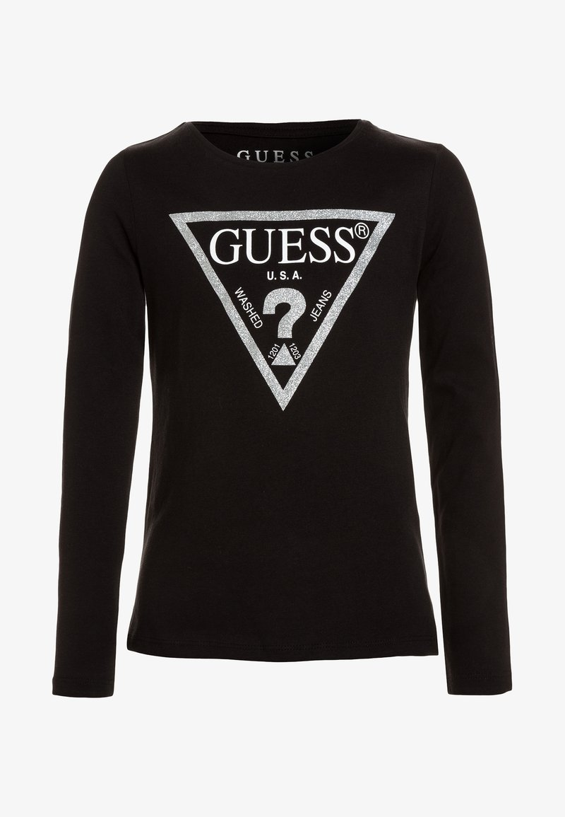 Guess - Camiseta de manga larga - jet black/frost
