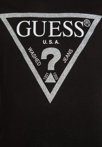 Guess - Camiseta de manga larga - jet black/frost - 2