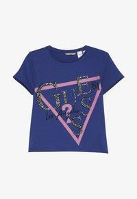 Guess - JUNIOR - Camiseta estampada - wild blue - 3