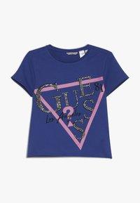 Guess - JUNIOR - Camiseta estampada - wild blue - 0