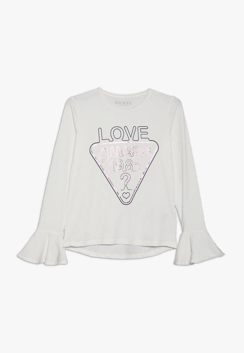 Guess - JUNIOR  - Langærmede T-shirts - white glam
