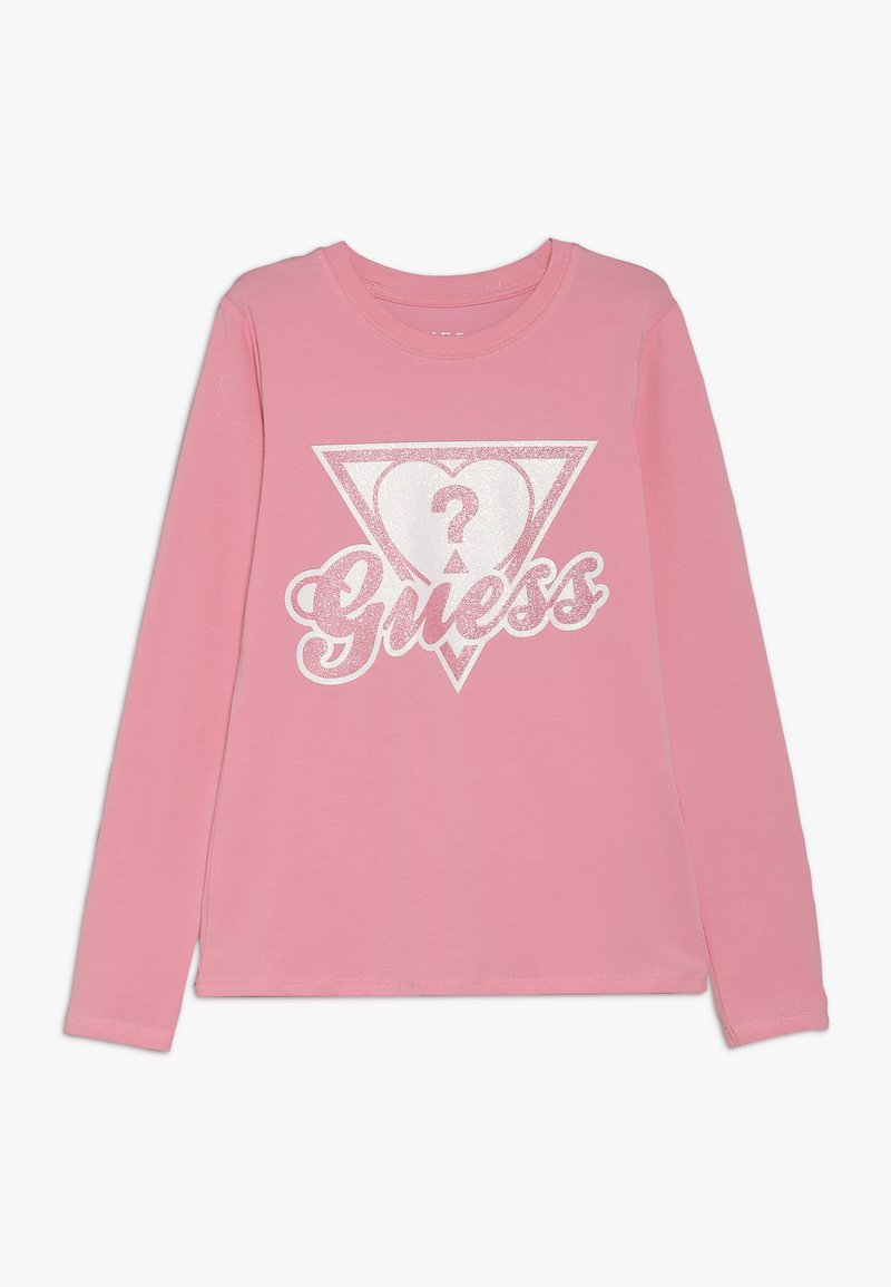 Guess - JUNIOR - Long sleeved top - trigger pink