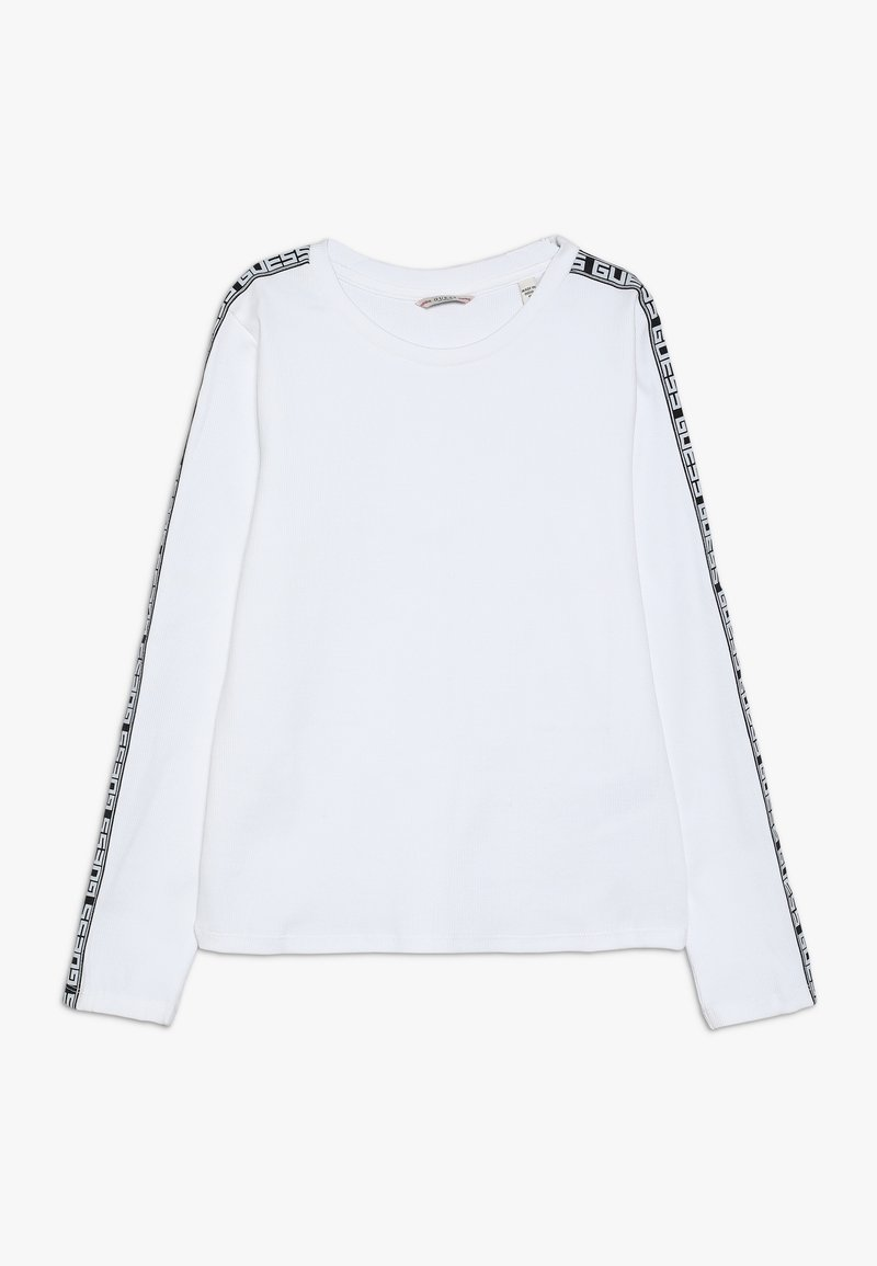 Guess - JUNIOR EXCLUSIVE - Camiseta de manga larga - true white