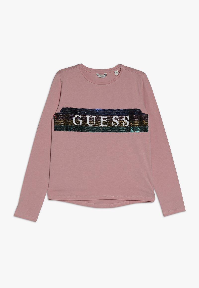 Guess - JUNIOR  - Bluzka z długim rękawem - slip pink