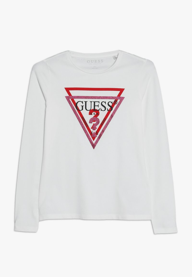 Guess - JUNIOR  - Long sleeved top - blanc/white clay