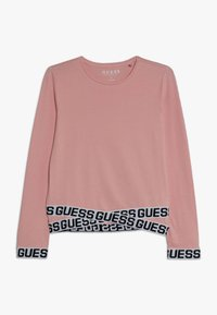 Guess - JUNIOR LOGO - T-shirt à manches longues - slip pink - 0