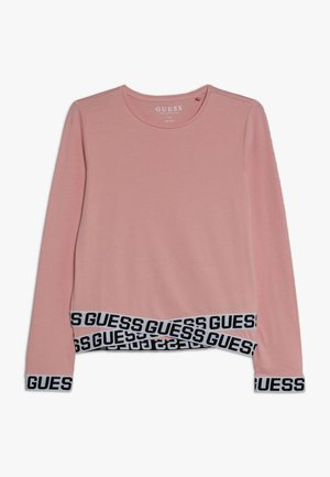 JUNIOR LOGO - Long sleeved top - slip pink