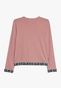 Guess - JUNIOR LOGO - Bluzka z długim rękawem - slip pink - 1