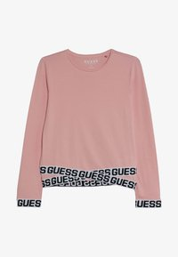 Guess - JUNIOR LOGO - T-shirt à manches longues - slip pink - 2