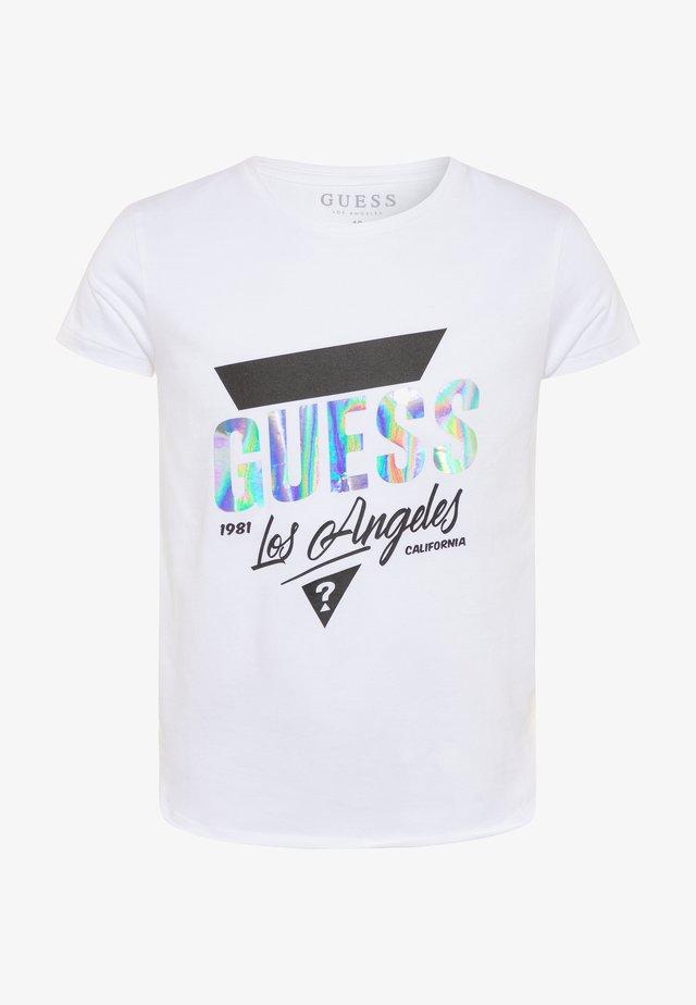 JUNIORHIGH LOW - T-shirt print - blanc pur