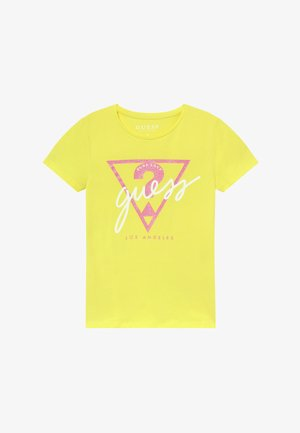JUNIOR - T-Shirt print - lemon peel
