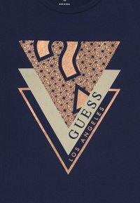 Guess - JUNIOR - T-shirt print - deck blue - 3