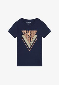 Guess - JUNIOR - T-shirt print - deck blue - 2