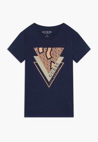 Guess - JUNIOR - T-shirt print - deck blue - 0