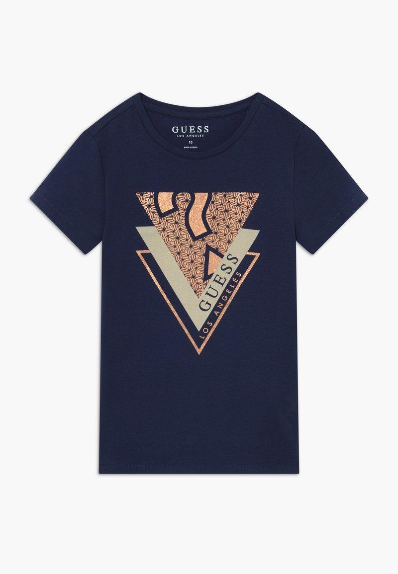 Guess - JUNIOR - T-shirt print - deck blue