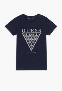Guess - JUNIOR - T-shirt imprimé - deck blue - 0