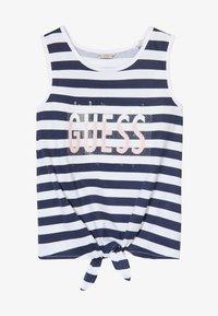 Guess - STRIPES - Débardeur - white and blue strip - 3