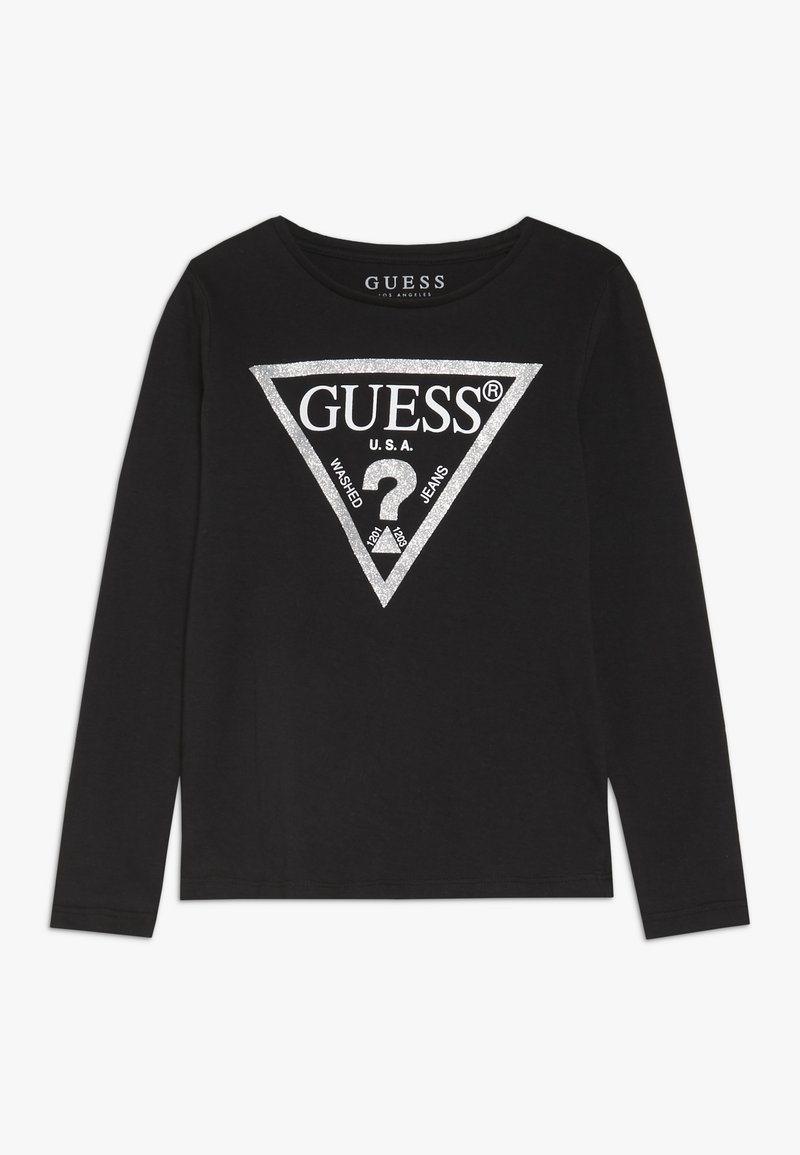 Guess - TODDLER CORE - Long sleeved top - jet black/frost