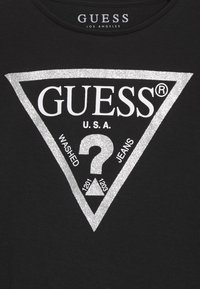 Guess - TODDLER CORE - Long sleeved top - jet black/frost - 3