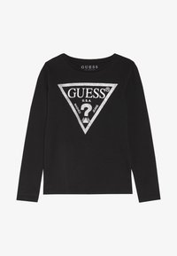 Guess - TODDLER CORE - Long sleeved top - jet black/frost - 2