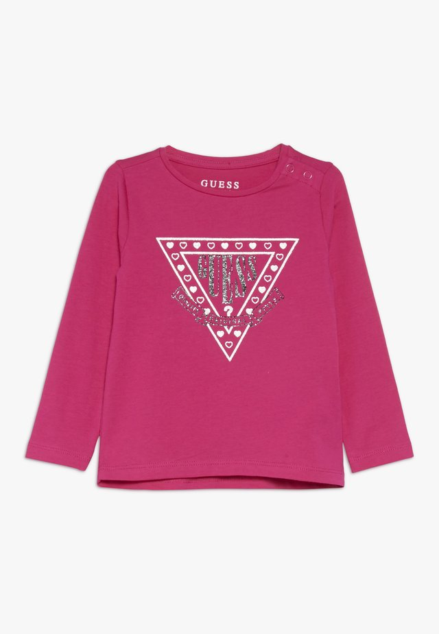 HIGH LOW BABY - Longsleeve - rouge/shocking pink