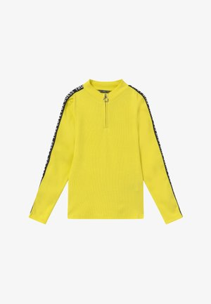 JUNIOR - Top sdlouhým rukávem - yellow