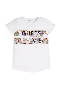 Guess - A$AP ROCKY - T-shirt con stampa - weiß - 0