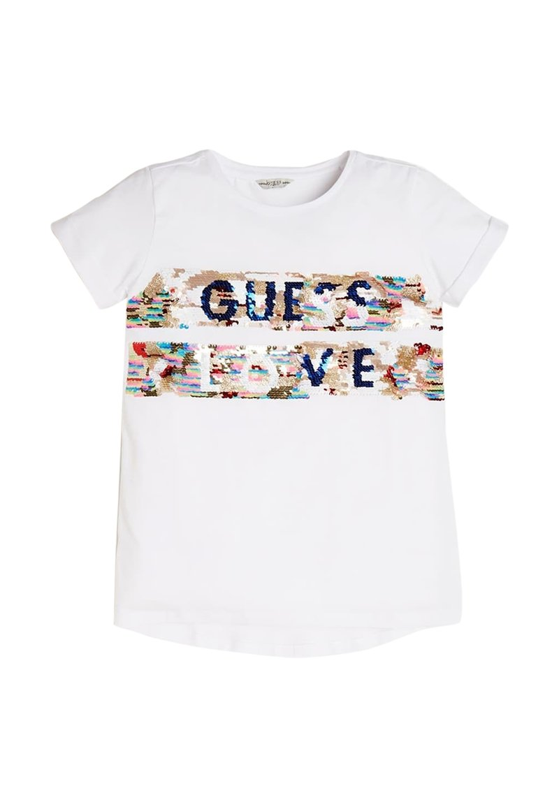 Guess - A$AP ROCKY - T-shirt con stampa - weiß