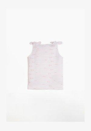 T-SHIRT STRASS - Top - roze multi