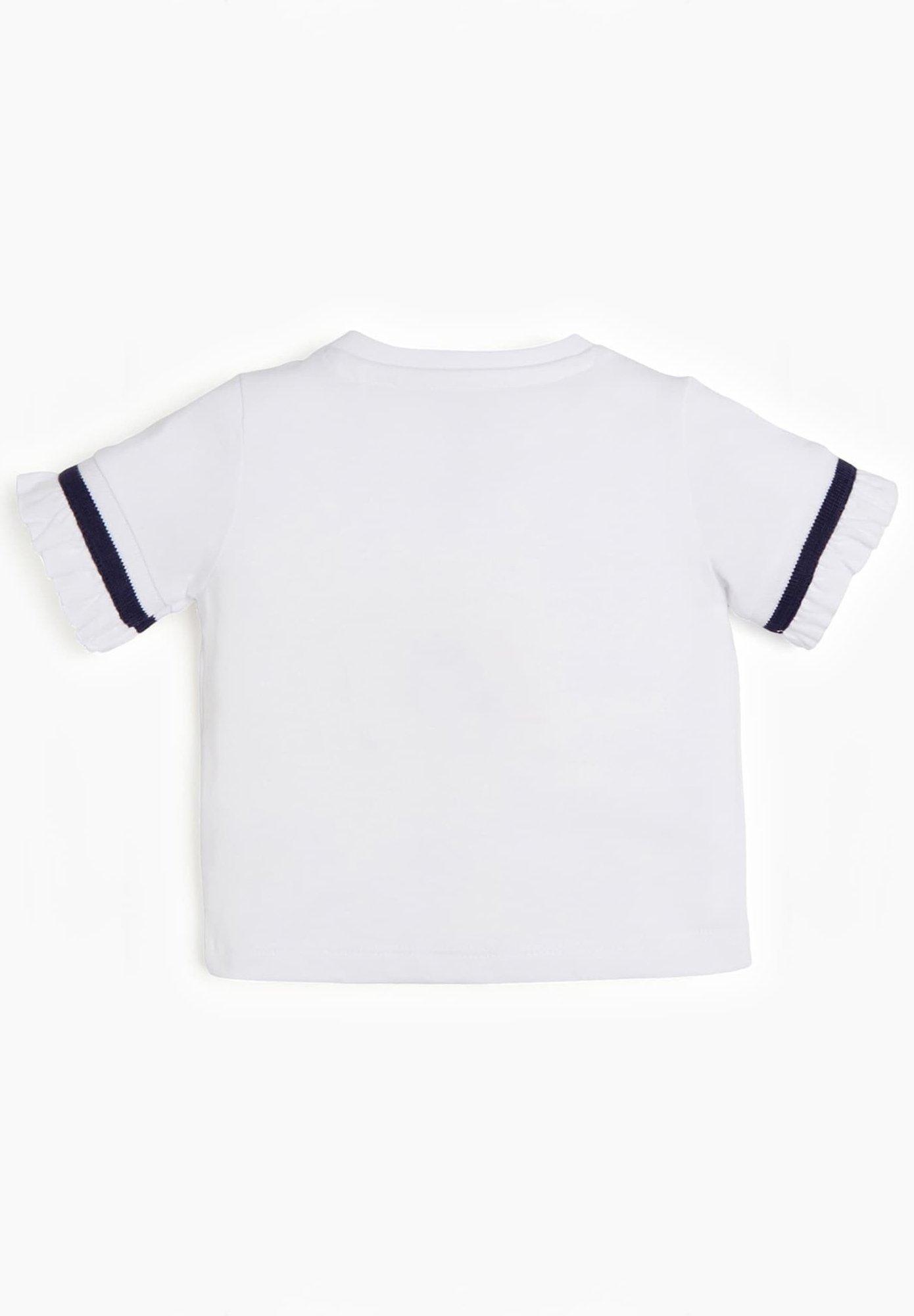 Guess Print T-shirt - Weiß
