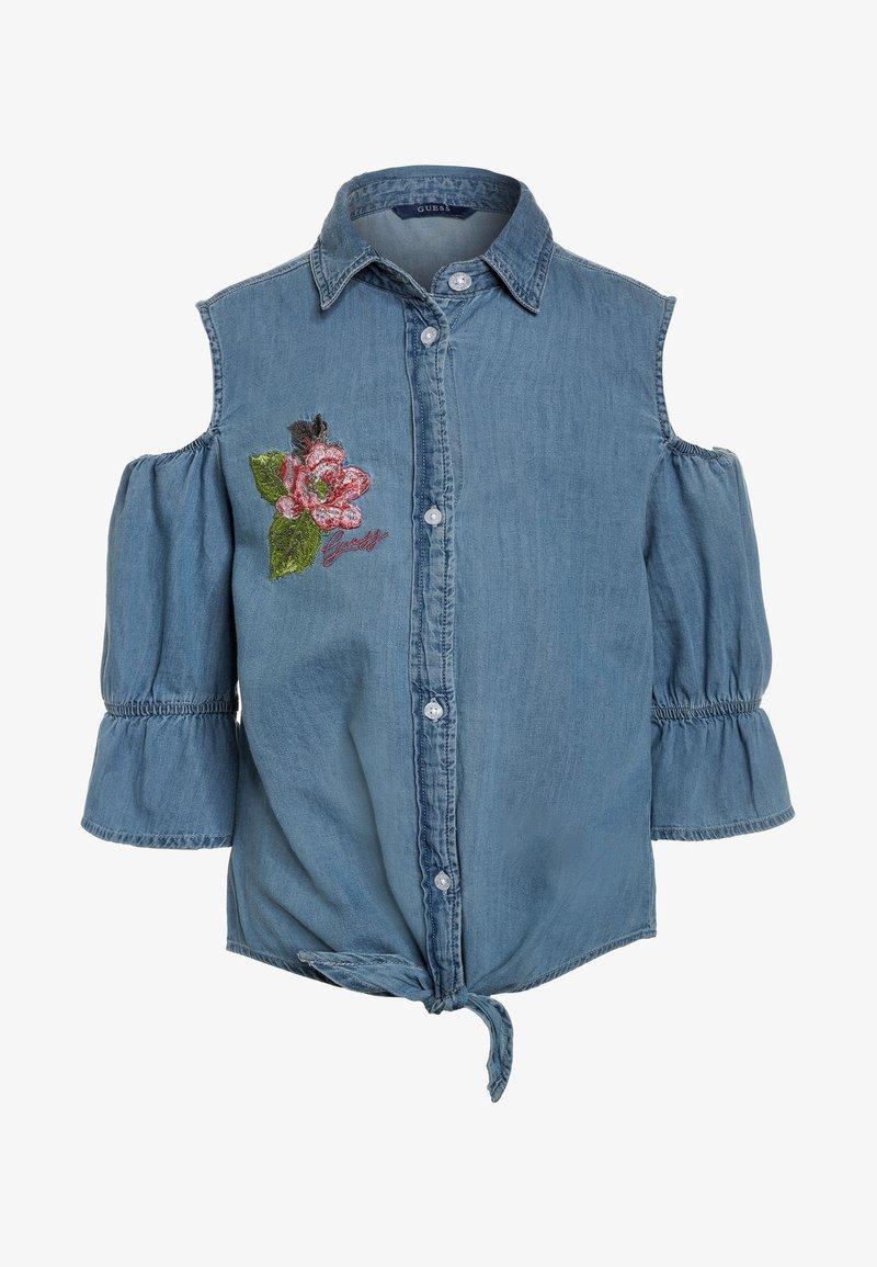 Guess - Košile - bleached blue denim