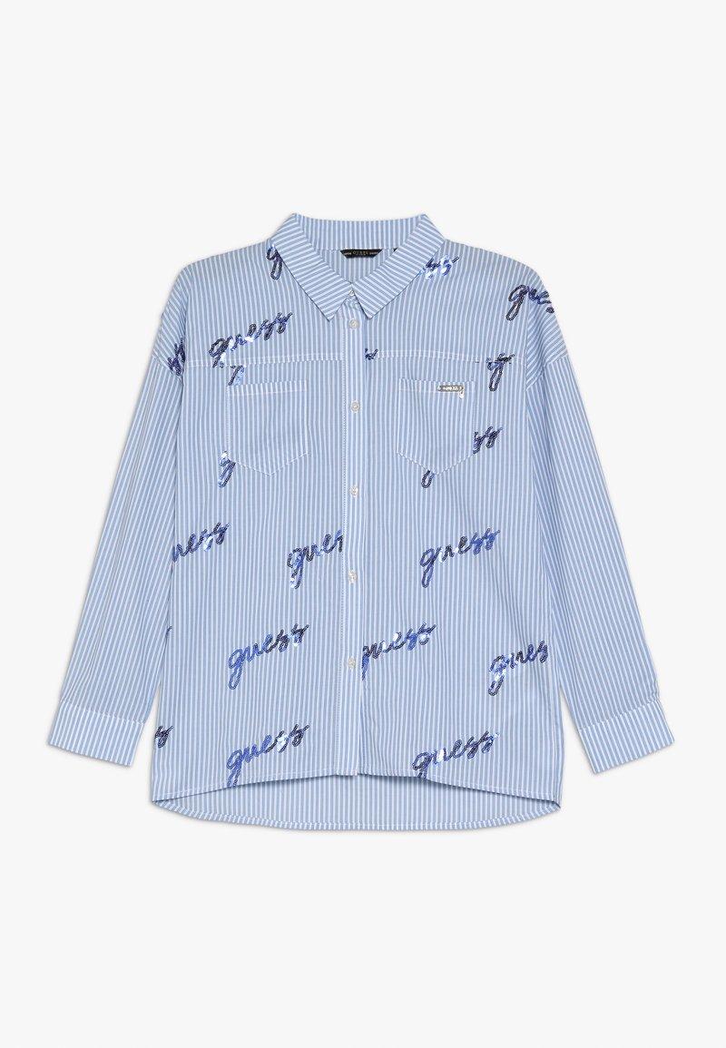 Guess - JUNIOR - Košile - blue/white