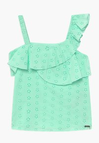 Guess - BRODERIE ANGLAISE - Tunic - menthol essence - 0