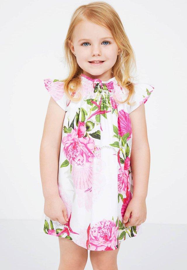 ROBE IMPRIME ALL-OVER - Korte jurk - rose