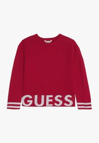 Guess - JUNIOR CUT OUT - Neule - electric crimson - 0