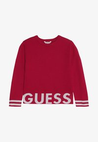 Guess - JUNIOR CUT OUT - Neule - electric crimson - 2