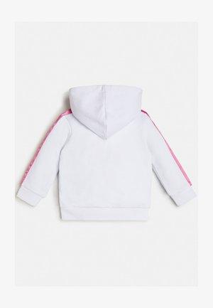 SWEATSHIRT FRONTLOGO - veste en sweat zippée - mehrfarbig, weiß