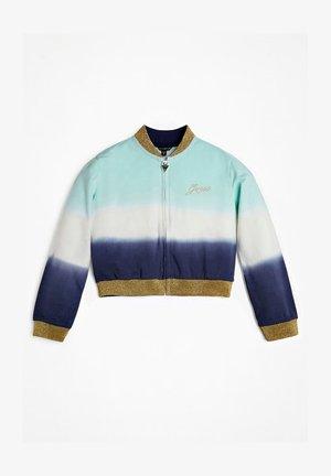 SWEATJACKE DEEP DYE - Zip-up hoodie - mehrfarbig, grün