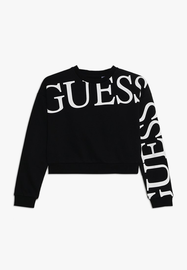 Guess - JUNIOR ACTIVE ICON - Sweatshirt - jet black