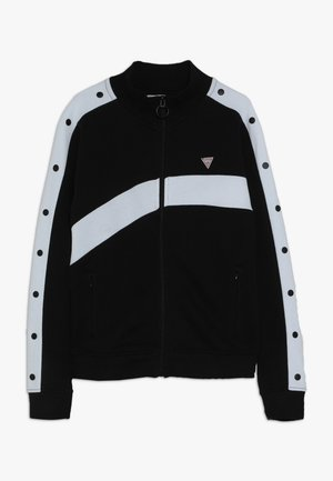 JUNIOR EXCLUSIVE ACTIVEWEAR - Zip-up hoodie - jet black