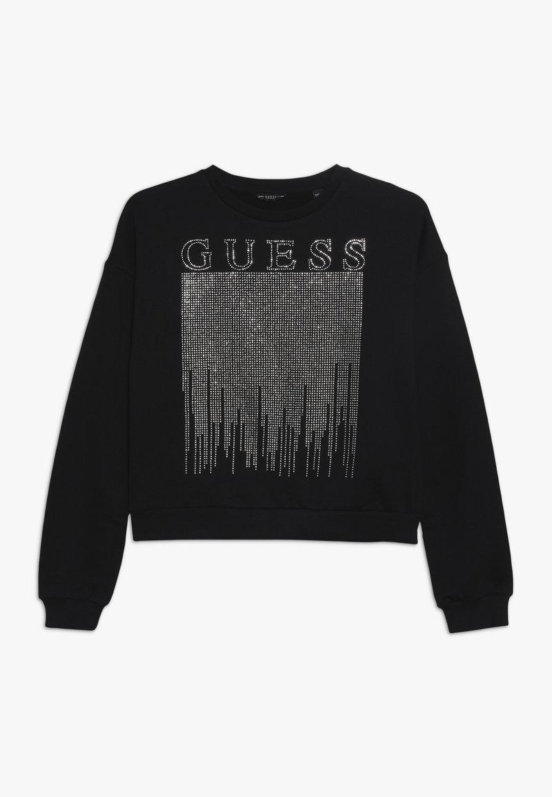 Guess - JUNIOR ACTIVE  - Sweatshirt - jet black