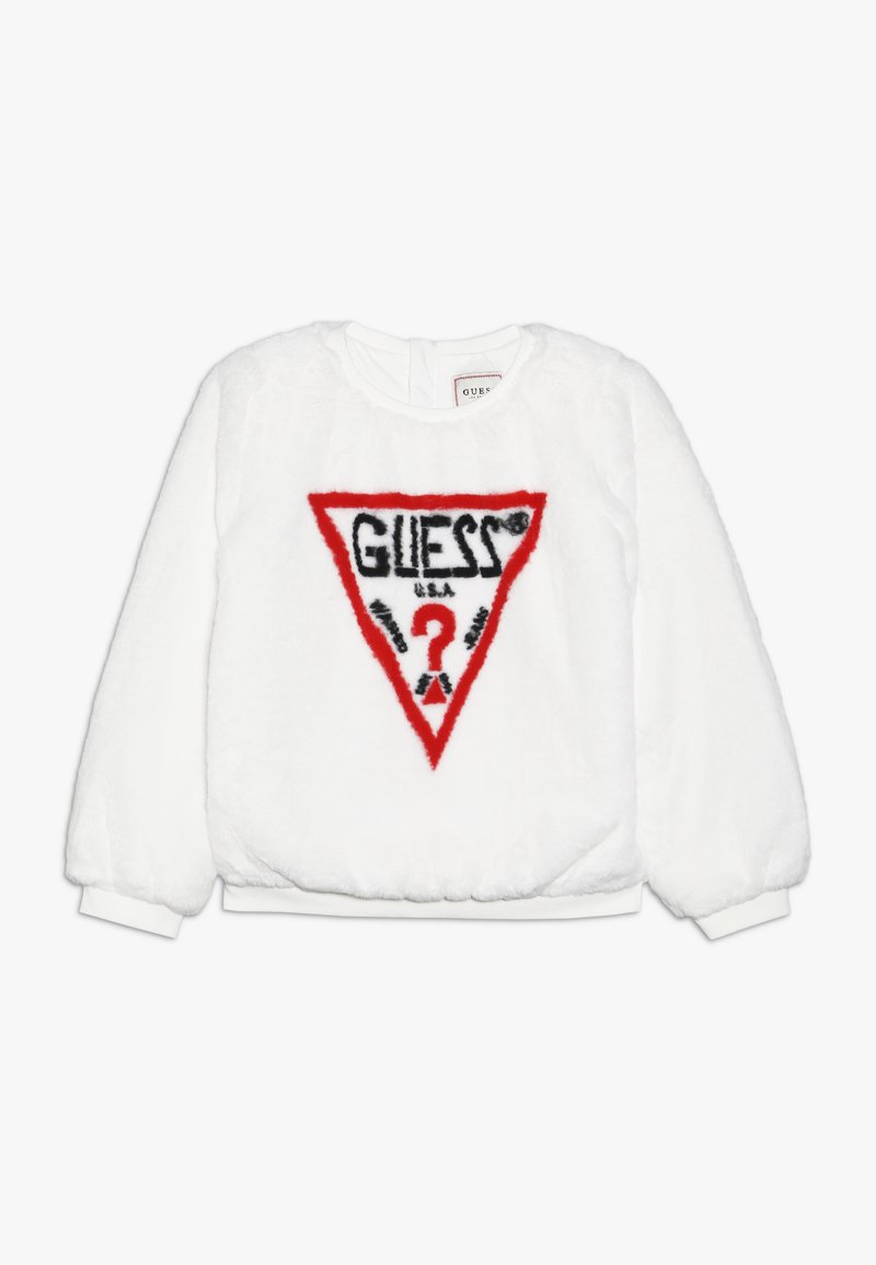 Guess - JUNIOR ACTIVE - Mikina - white clay