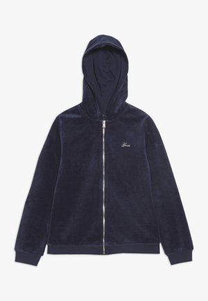 CHENILLE - Zip-up hoodie - deck blue