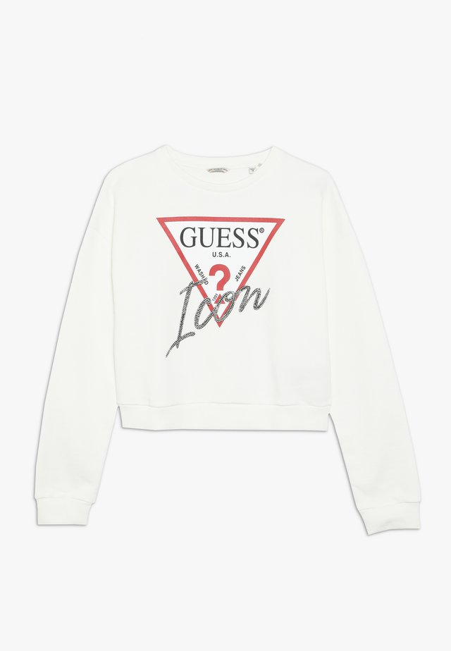 JUNIOR LOGO - Sweatshirt - white clay