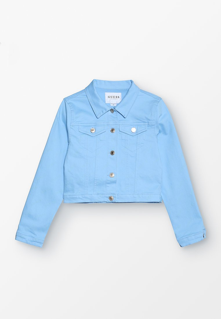 Guess - JACKET MINI ME GLOW IN THE SUN - Jeansjacke - light blue